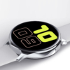 Kép 4/6 - WearFit S20s pulzus-, vérnyomás- és véroxigénmérő multisport EKG okosóra magyar nyelvű alkalmazással - Fehér