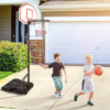 Kép 1/5 - Mobil állítható kosárlabda palánk