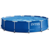 Kép 2/7 - INTEX MetalPool medence 305 x 76 cm (28200)