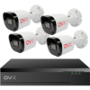 Kép 1/6 - DVX AHD Biztonsági kamera rendszer – 4 db, 2 Mpx felbontású kamera