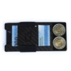 Kép 4/7 - Dilorian Kártyatartó karbonszálas RFID védelemmel kompakt minimalista pénztárca bankkártyák bankjegyek érmék tárolására