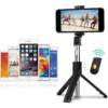 Kép 3/7 - Prémium selfie bot, 19 - 70 cm, 270°-ban forgatható, exponáló gombbal, bluetooth-os, v4.0, tripod állvány funkció, fekete, AF15 utángyártott