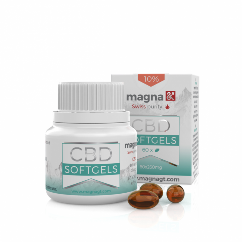 Magna CBD Lágygél kapszula 10%