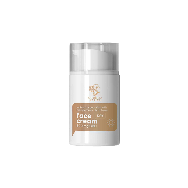 Goddes Sativa - Nappali Arckrém 500 mg CBD