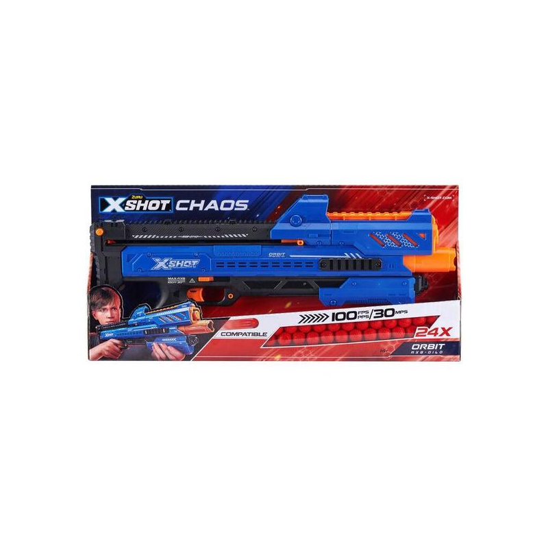 X-SHOT Dart Ball Blaster-CHAOS Orbit