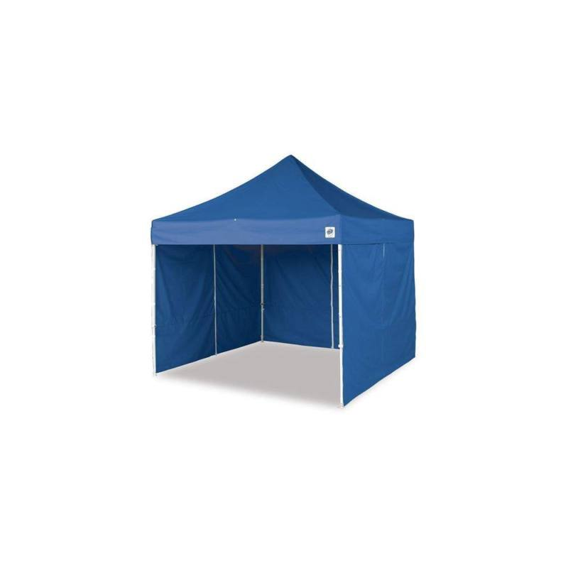 Kerti pavilon, összecsukható 3 fallal 2,9 x 2,9 m - kék