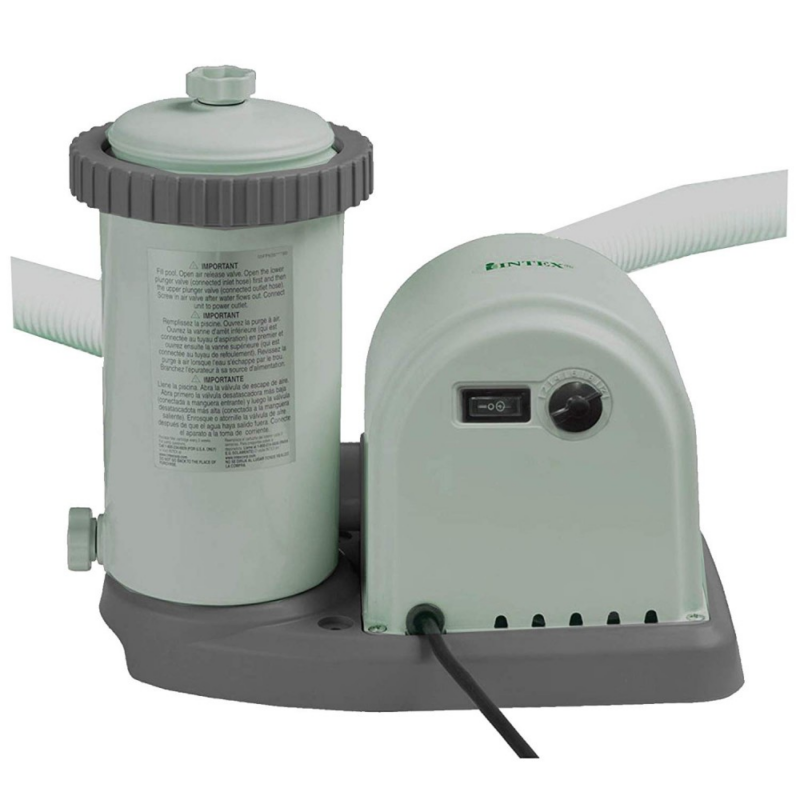 INTEX KrystalClear, Papírszűrős vízforgató 5,7m3/h (28636)