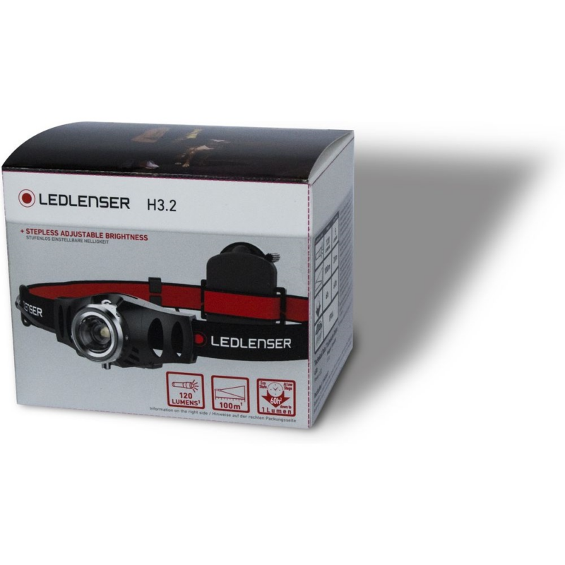 LEDLENSER H3.2 fejlámpa 3xAAA 120lm 500767