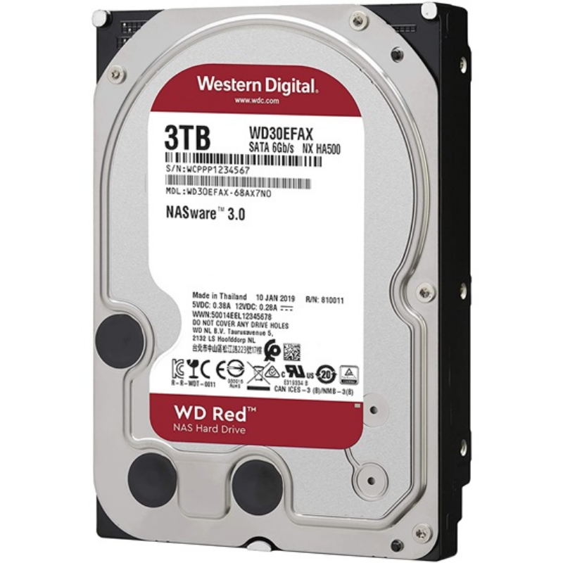 "HDD 3,5"" WD 3TB SATA3 5400rpm 256MB Red - WD30EFAX"