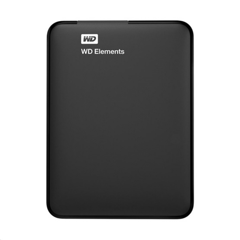 """HDD EXT 2,5"""" WD Elements 4TB USB3.0 - Fekete - WDBU6Y0040BBK-WESN"""