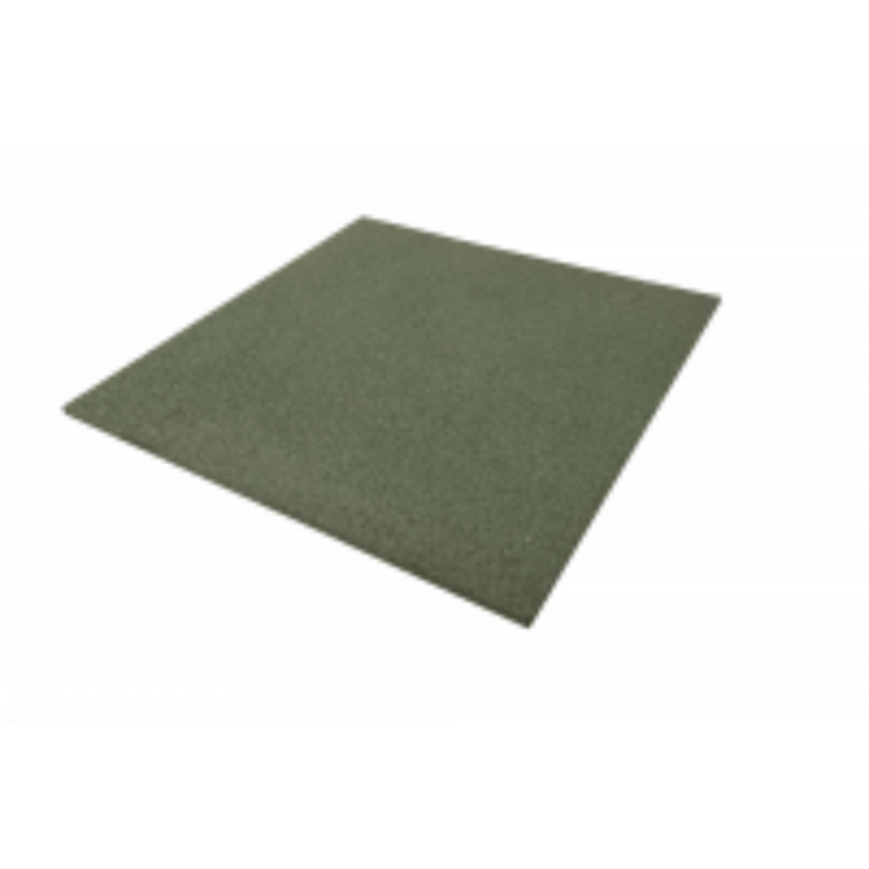 Esésvédő gumilap G554 Zöld 50x50 cm Vastagság  cm : 4