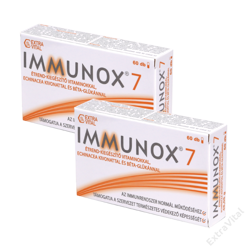 2 doboz IMMUNOX®7 immunerősítő kapszula, 120 DB