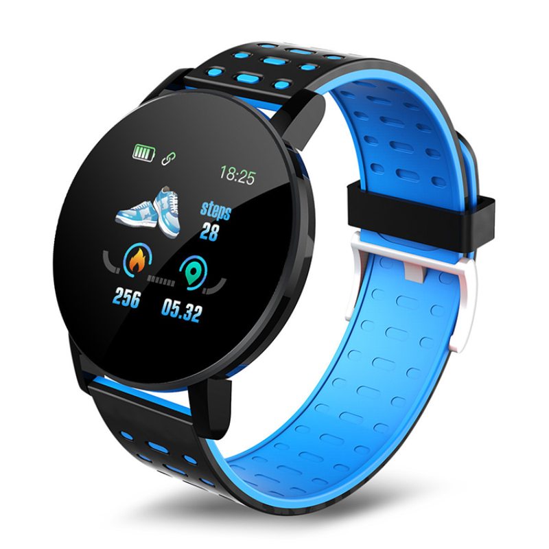 Mountee Smart Watch Blue
